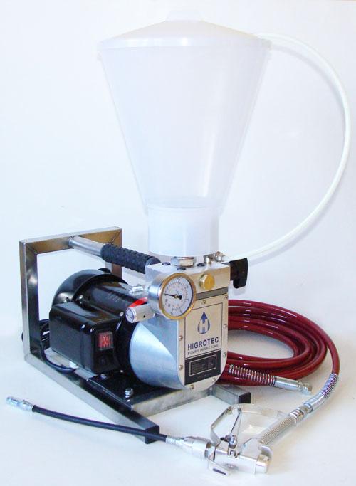 Pompa do iniekcji wysokociśnienowej żywic epoksydowych i poliuretanowych
